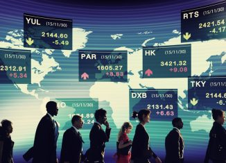 Group of Business People Stock Market