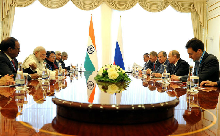India in a game of Chess for NSG