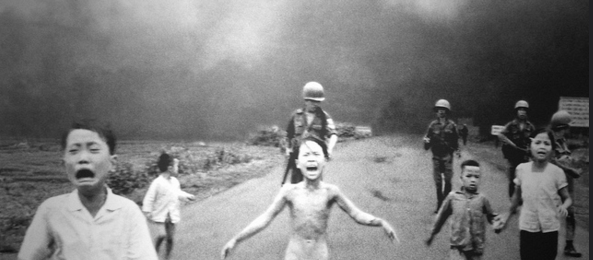 Napalm Girl in Vietnam - Alvexo