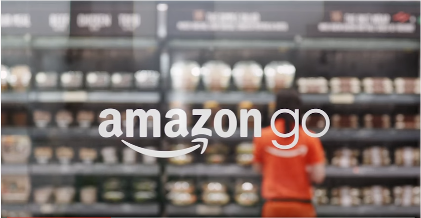 Amazon Go in the Window - Alvexo