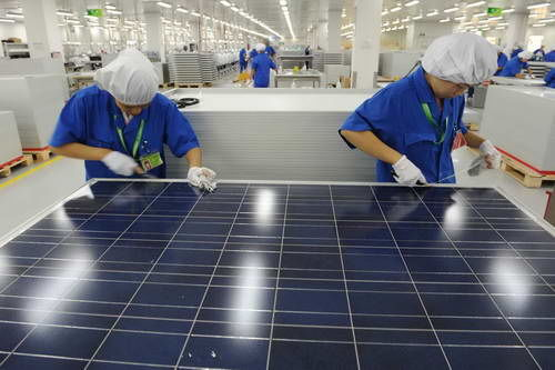 china manufacturing solar panals - alvexo