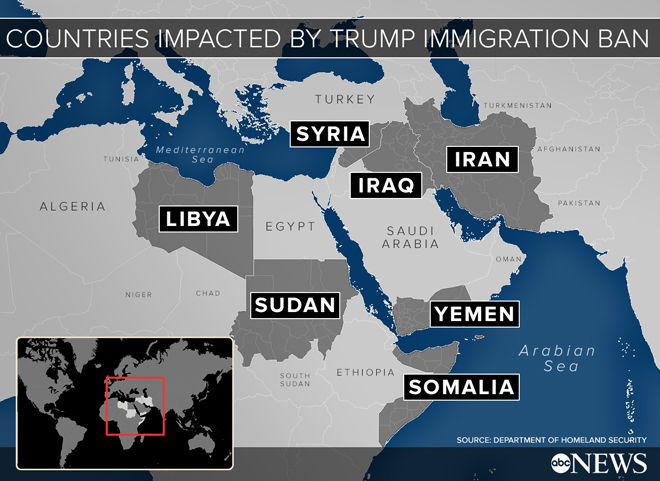 countries impacted by trump ban - alvexo