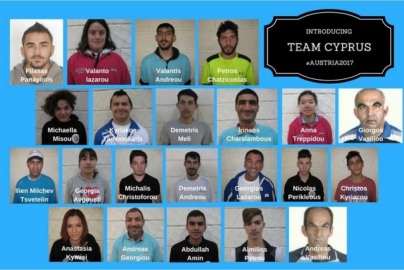 special olympics cyprus team 2017 winter games - alvexo