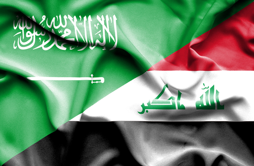iraq and saudi flags - alvexo