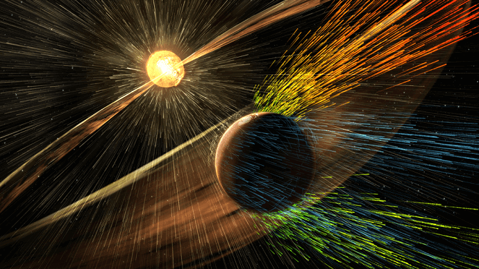 magnetic field preposed by nasa - alvexo