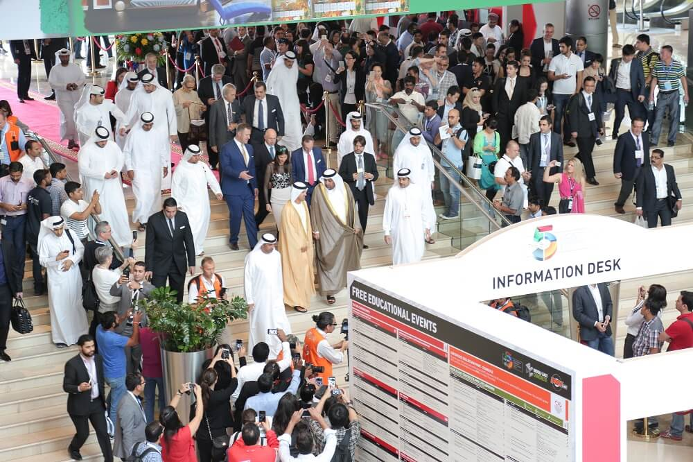 Dignitaries attend the opening ceremony of The Big 5 Dubai - alvexo