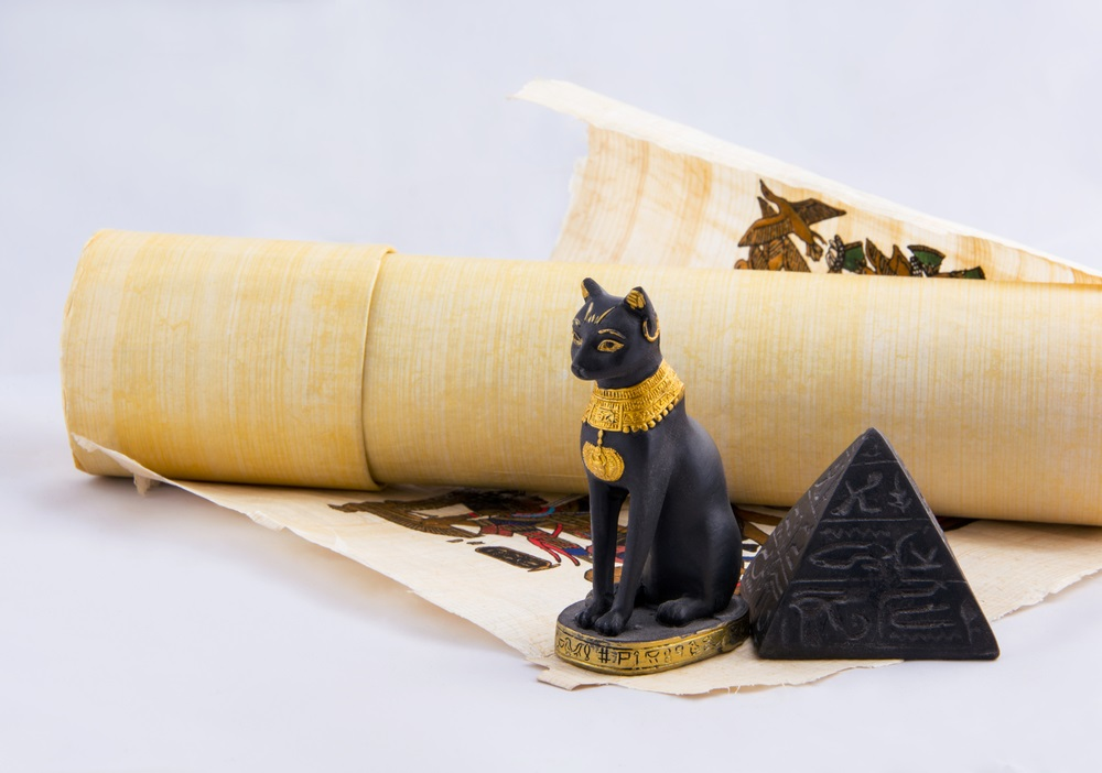 cats in acient egypt