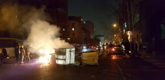 People protest in Tehran